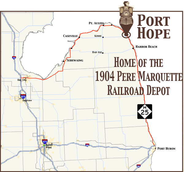 Find the Port Hope Depot
